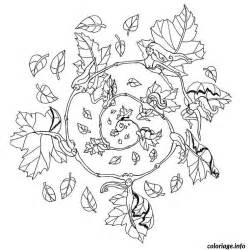 coloriage mandala automne jecolorie com