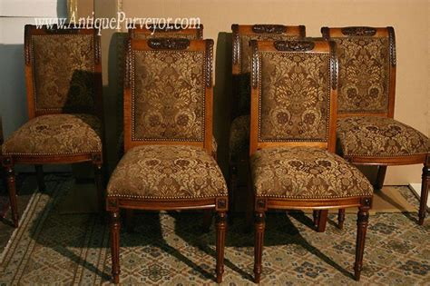 Stickley Dining Room by Upholstered Dining Room Chairs Custom Finish High End Ebay