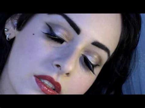 dita von teese burlesque makeup tutorial teaser fashion