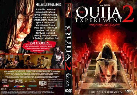 Watch Ouija Experiment 2 Theatre Death 2015 The Ouija Experiment 2 Theatre Of Death Dvd Cover Label 2015 R1 Custom Art