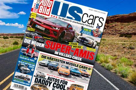 Auto Bild Us Cars by Auto Bild Us Cars Herbst 2016 Blick Ins Heft Autobild De