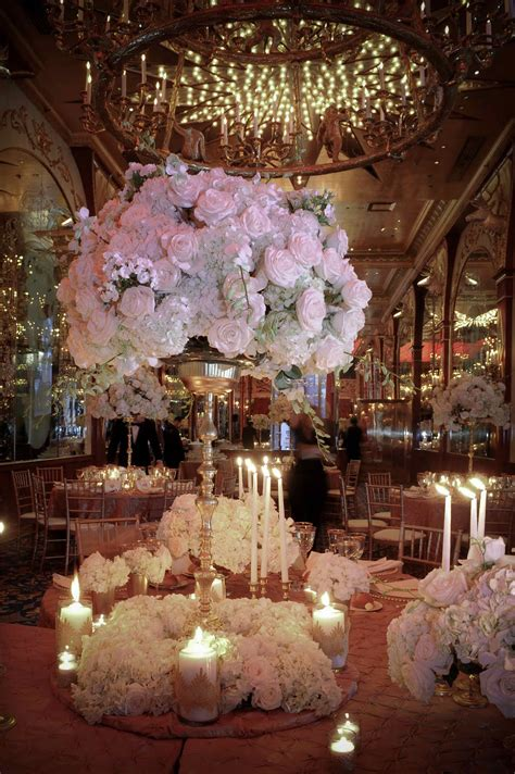 Center Wedding Flowers by Flowers On Candelabra Centerpiece