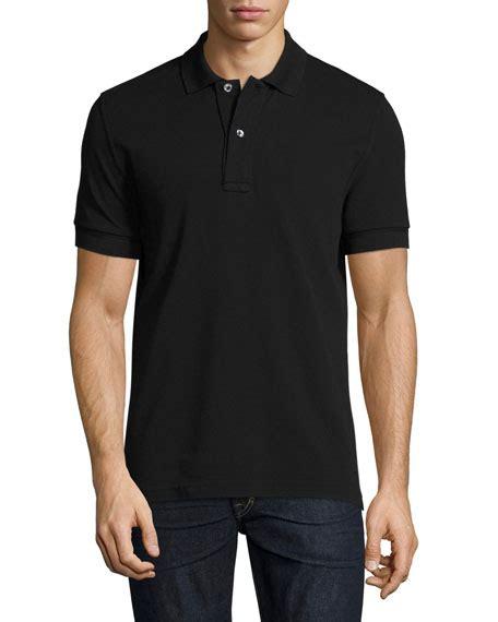 Polo Shirt Black tom ford pique polo shirt black neiman
