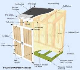 sheds ottors how to build a small lean to storage shed guide