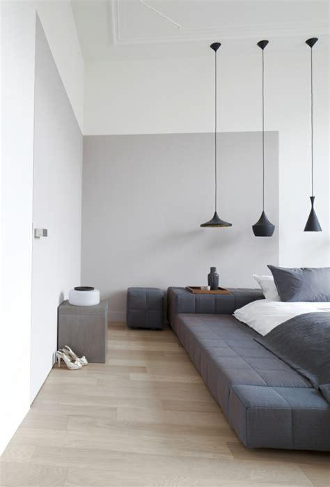 hellgraue wand schlafzimmer grau 88 schlafzimmer mit deutlicher pr 228 senz