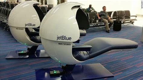 jetblue   nap pods  jfk airport