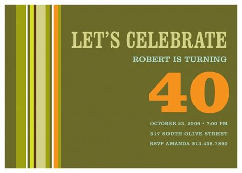 template 40th birthday invitation http webdesign14 com