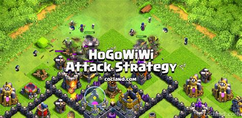 golaloon attack strategy clash of clans land hogowiwi best 3 stars attack strategy for early th9