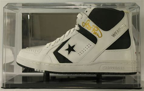 basketball shoe display sports memorabilia auction pristine auction