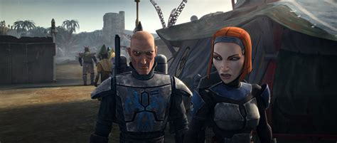 star wars bo katan image bo katan and pre vizsla on zanbar sor png the