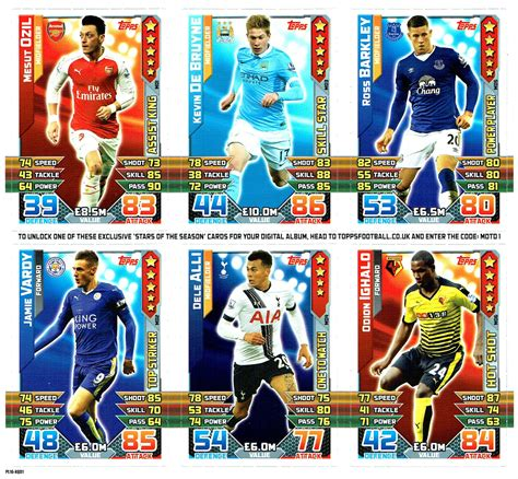 match attax 2015 16 football cartophilic info exchange topps match attax