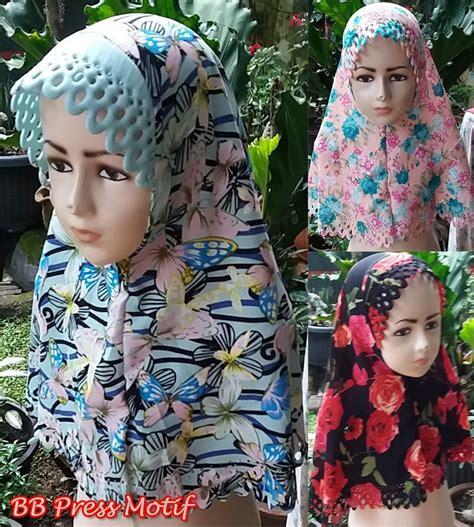 Jilbab Anak Kiwil Khimar Anak Anak Kerudung Anak 3 7 Th kerudung trend sekarang referensi model kerudung instan