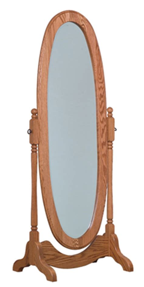oval cheval floor mirror amish furniture factory amish furniture factory