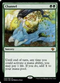 channel vintage masters gatherer magic the gathering