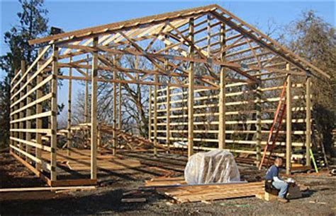 Two Story Pole Barn by Pole Barn Construction Guide All Pole Building Applications