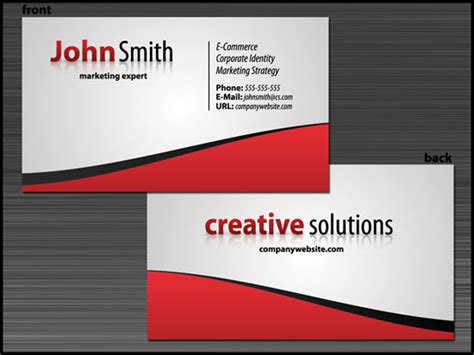 where to make a business card 10 high quality business card tutorials with psd templates