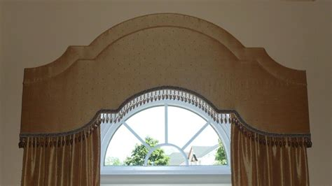 Arched Cornice arched cornices w drapery and shadings traditional living room detroit by exciting