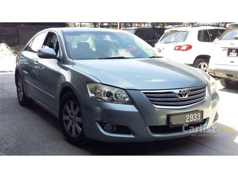 how to learn about cars 2009 toyota camry hybrid parking system toyota camry 2009 g 2 0 in kuala lumpur automatic sedan silver for rm 53 800 3837014 carlist my