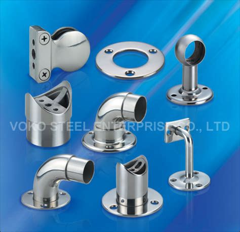 Banister Fittings voko steel handrail fittings