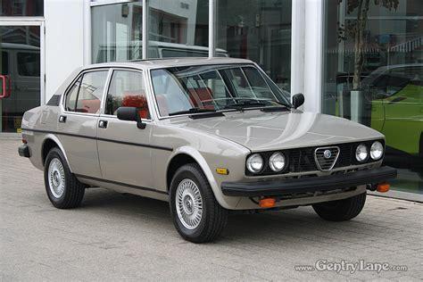 1979 Alfa Romeo by 1979 Alfa Romeo Alfetta Gentry Automobiles