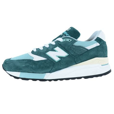 american made athletic shoes new balance 998 explore by sea running shoes teal m998csam