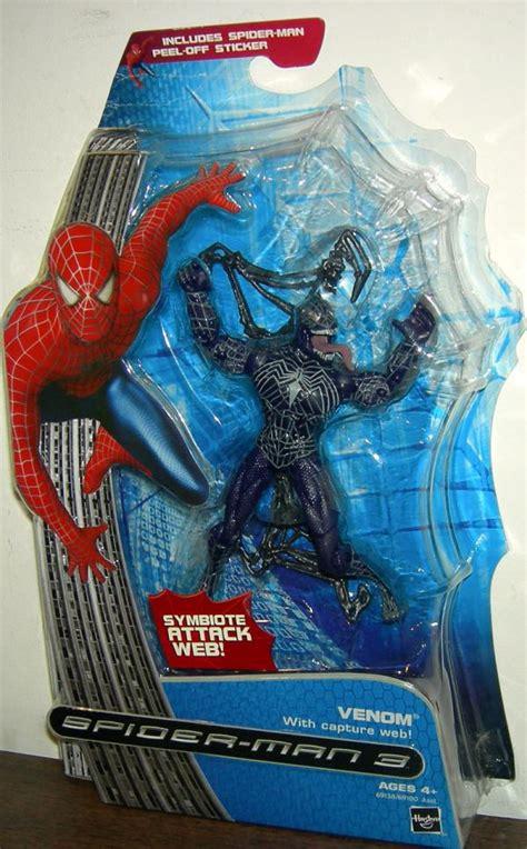 Hasbro 3 Venom venom figure capture web spider 3 hasbro