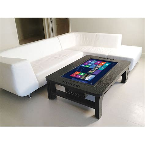 Touchscreen Coffee Table The Coffee Table Touchscreen Computer Hammacher