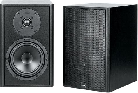 canton le 102 bookshelf speakers review and test