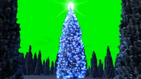 christmas tree lights green screen animation youtube