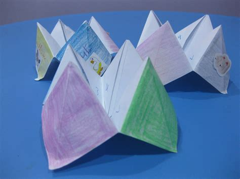 How To Make Paper Fortune Tellers - how to make a paper fortune teller with step by step