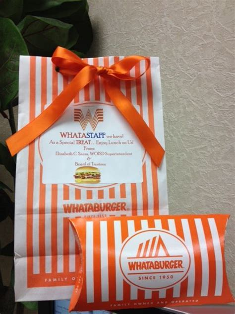 Whataburger Gift Card - 78 ideas about appreciation message on pinterest employee appreciation staff