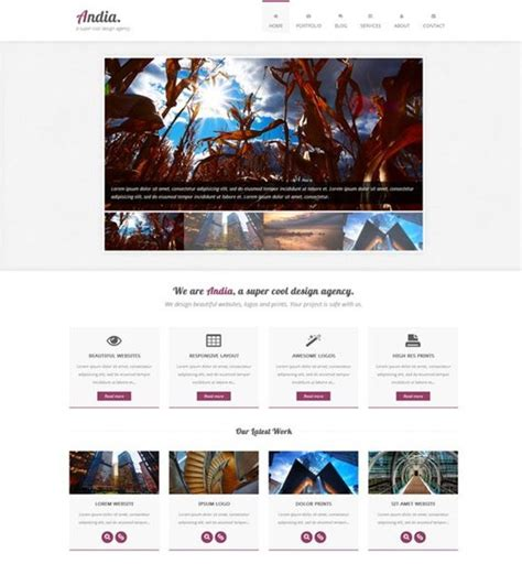 html5 css3 jquery website templates free 60 free responsive html5 css3 website templates
