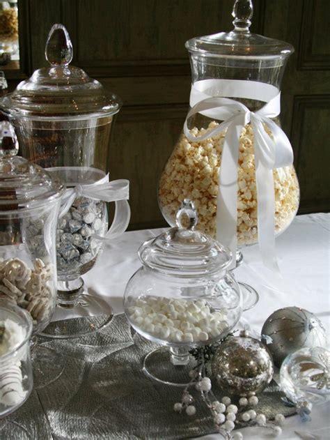 como decorar tarros de cristal para navidad decoracion navidad brillante en 50 ideas que impresionan
