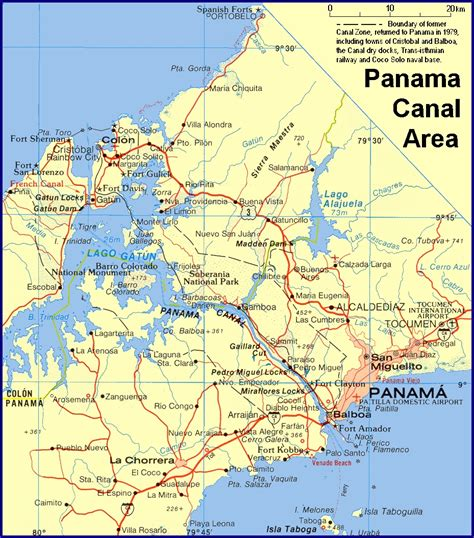 panama canal diagram the panama canal size