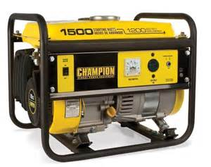 chion power equipment 1500 watt portable generator