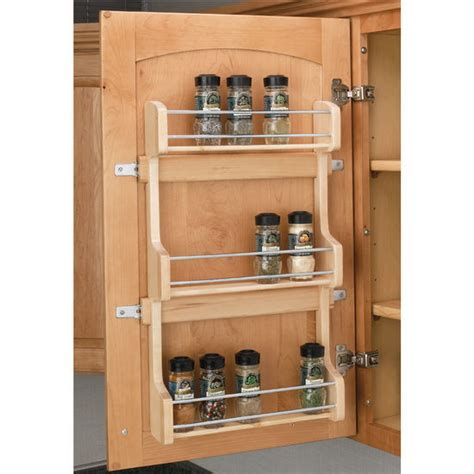 Spice Rack For Rv by Door Mount Spice Rack By Rev A Shelf Kitchensource
