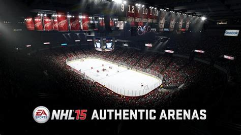 nhl 15 vs nhl 14 intro graphic comparison next gen youtube ea just posted a render of joe louis arena from nhl 15