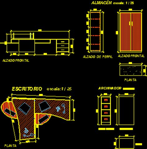 Office Chairs Dwg Office Furniture Details Dwg Home Office Furniture