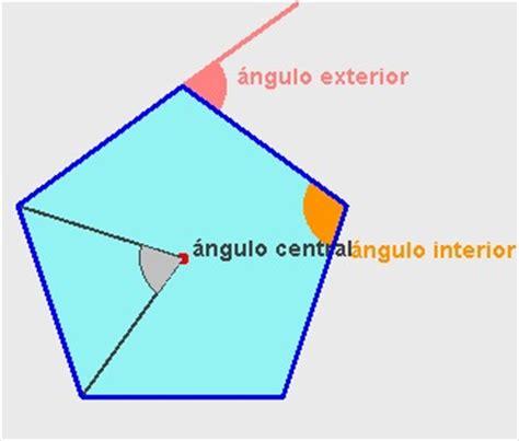 angulo interior de un poligono regular are pol rect