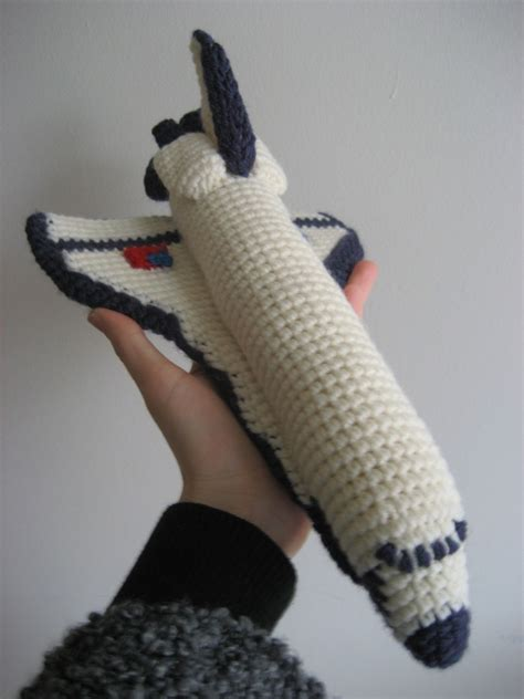 etsy launches pattern look at this little thing crochet space shuttle pattern