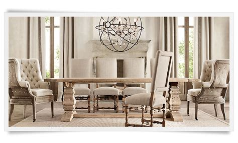 A Deconstructed Home By Restoration Hardware Christina Restoration Hardware Dining Room Tables