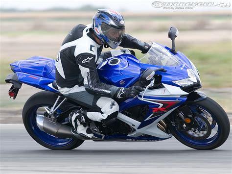 2008 Suzuki Gsxr 750 2008 Suzuki Gsx R750 Comparison Motorcycle Usa