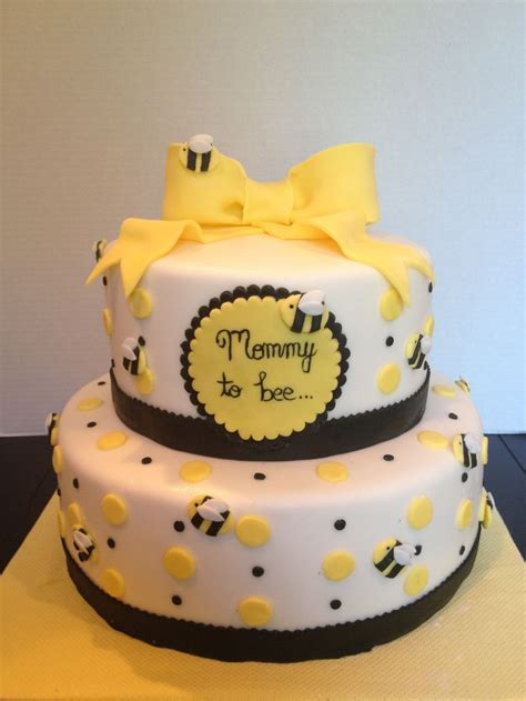 Bee Decorations For Cakes by To Bee Cake Baby Shower Cakes Gender Reveal Ideas And Photos