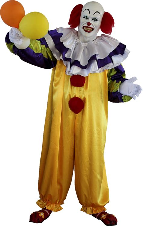 It Pennywise Clown Mask Costume pennywise the it clown scary clown costume