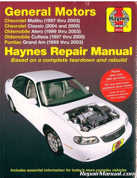 best auto repair manual 2004 pontiac grand am transmission control haynes gm chevrolet oldsmobile alero cutlass and pontiac grand am 1997 2003 auto repair