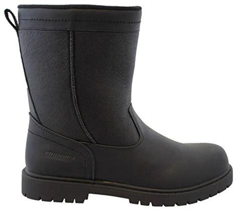 mens winter dress boot khombu mens chicago insulated winter boot black 9 m