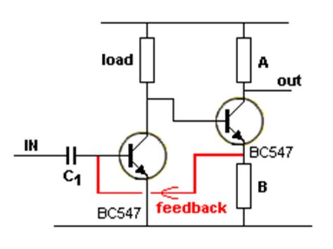 transistor lifier with feedback feedback resistor calculator feedback free engine image for user manual