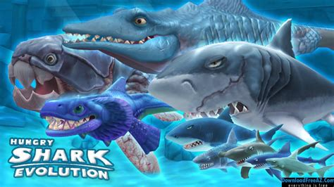 shark evolution apk hungry shark evolution v4 8 0 apk mod coins gems android free downloadfreeaz