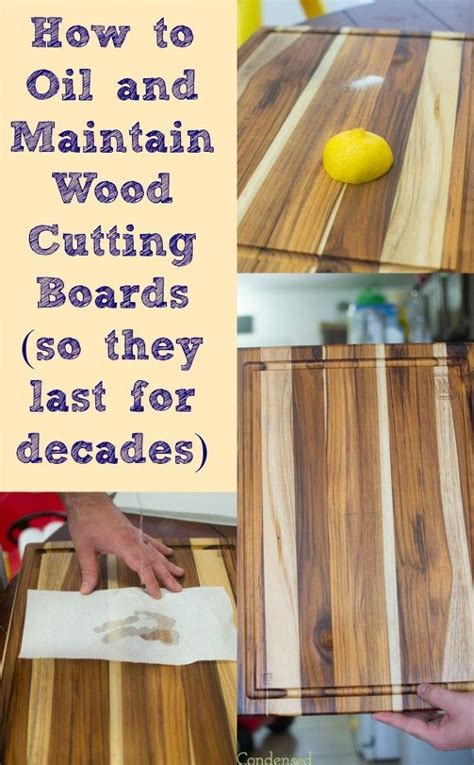 How To Clean Wood | how to oil and clean wood cutting boards hometalk