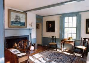 Colonial Home Interiors Writers Colony Filling Spaces
